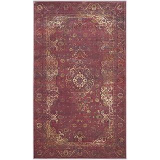 Safavieh Vintage Purple/ Fuchsia Viscose Rug (4 x 57)   15691823
