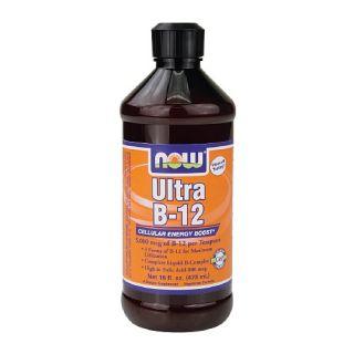 NOW Foods Ultra B 12, 5mg, Liquid