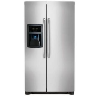 Frigidaire 22.16 cu. ft. Side by Side Refrigerator in Stainless Steel, Counter Depth FFSC2323LS