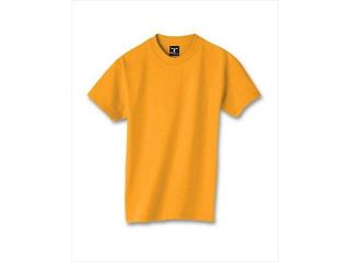 Hanes 5380 Kid Beefy T T Shirt Gold Yellow Extra Small