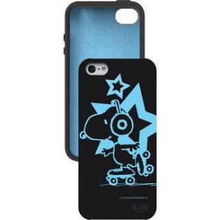 iLuv Snoopy Glow in the Dark Case for iPhone 5 ICA7T381BLK