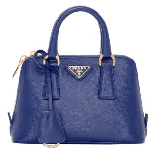 Prada Mini Saffiano Leather Dome Bag