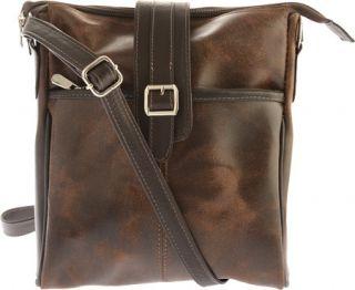 Piel Leather Slim Vintage Shoulder Bag 2977