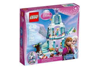 LEGO Disney Princess Elsa's Sparkling Castle 41062
