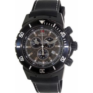 Swiss Precimax Mens Pursuit Pro Sport Black Dial Swiss Chronograph