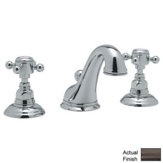 Country Double Handle Widespread Bathroom Faucet with Pop Up Drain and