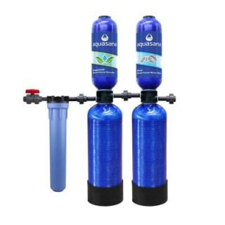 Aquasana Whole House 10 Year Water Filtration System with Simply Soft Salt Free Whole House Water Softener THD 1000 BUNDLE