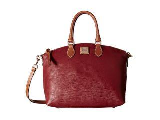 Dooney Bourke Pebble Leather Domed Satchel, Bags