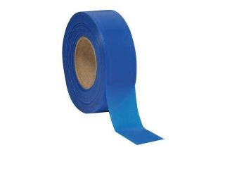 PRESCO PRODUCTS CO TXBG 373 Texas Flagging Tape,Blue Glo,150 ft