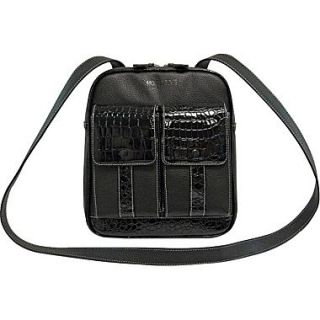 Mobile Edge Crossbody Tech Organizer Messenger For 10 Tablet, Black