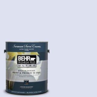 BEHR Premium Plus Ultra 1 gal. #P550 1 Imagination Satin Enamel Interior Paint 775001