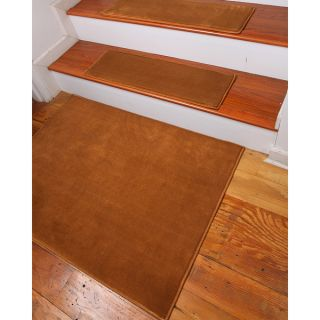 Natural Area Rugs Hand crafted Synergy Gold Carpet Stair Treads (9 x