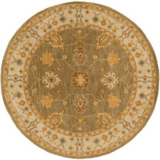 Artistic Weavers Middleton Willow Moss 8 ft. x 8 ft. Round Indoor Area Rug AWHR2049 8RD
