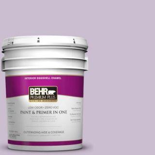 BEHR Premium Plus 5 gal. #S100 2 Romantic Poetry Eggshell Enamel Interior Paint 205005