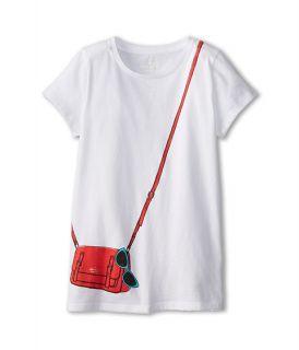 Kate Spade New York Kids Trompe Loeil Sunny Essentials Tee Big Kids, Kate Spade New