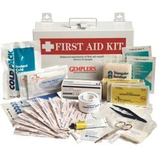 Workplace First Aid Kit aids 25 people