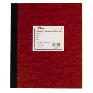 100 Numbered Carbon Laboratory Research Notebook