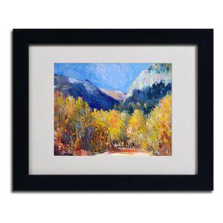 Richard Wallich Cotton Framed Matted Art   15997239
