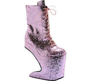 Womens Bettie Page Chablis   Pink Glitter