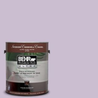 BEHR Premium Plus Ultra 1 gal. #S100 2 Romantic Poetry Eggshell Enamel Interior Paint 275001