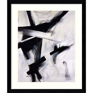 Amanti Art Eva Carter Black and White Framed Art, 38.62 x 32.62