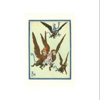 Monkeys Flew Away With Dorothy Print (Unframed Paper Print 20x30)