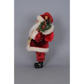Karen Didion Christmas Merry Christmas Santa Figurine