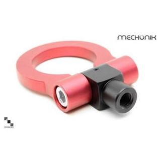 Bimmian ATHZ4ARYY Mechunik Aluminum Tow Hook For Bmw Z4 & Z4m Roadster & Coupe   2003 2008, Red Anodized Finish