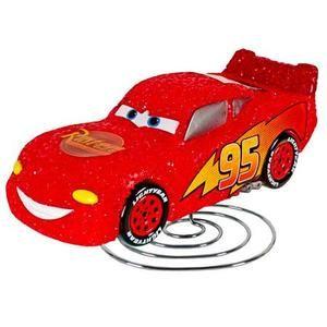 Disney   Cars Multi Bin Toy Organizer & Cars Eva Lamp Bundle