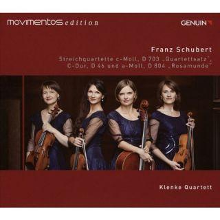 Schubert: Streichquartette D 703, D 46 und D 804