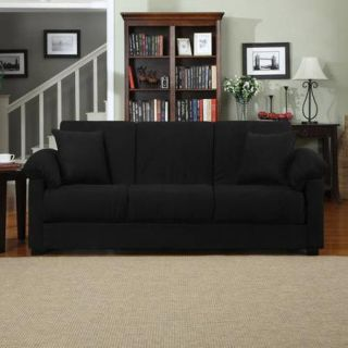 Montero Microfiber Convert a Couch Sofa Sleeper Bed, Multiple Colors