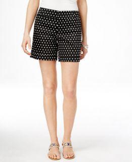 INC International Concepts Polka Dot Shorts, Only at   Shorts