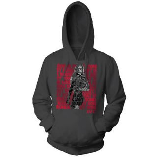 Ronda Rousey UFC Repeat Pullover Hoodie   Gray