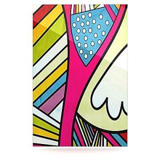 KESS InHouse Fake Colors by Danny Ivan Graphic Art Plaque