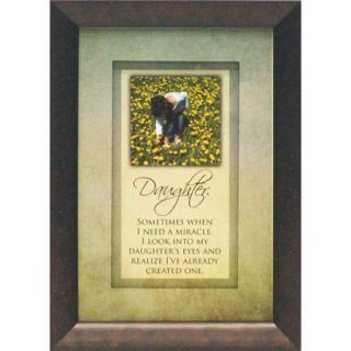 Artistic Reflections Daughter. Sometimes When I Need a Miracle by Brett West Framed Graphic Art