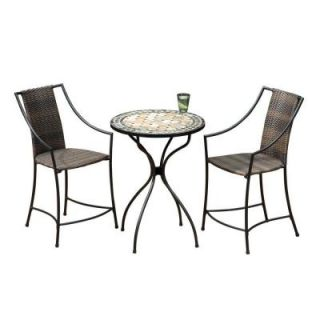 Home Styles High Top 3 Piece Patio Bistro Set DISCONTINUED 5605 359