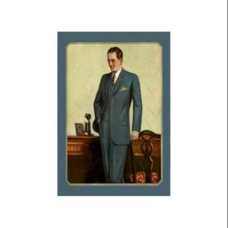 Young Men's Three Button Sack #1 Print (Unframed Paper Print 20x30)