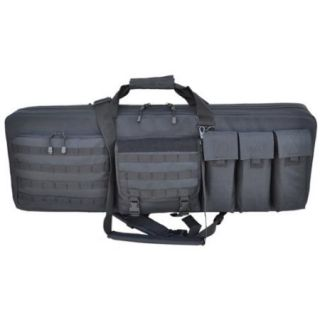 """Every Day Carry 46"""" Triple Rifle Soft Case with Detachable Sniper Mat Black"""