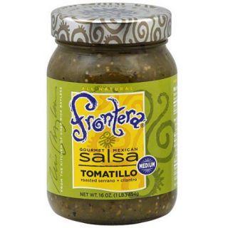 Frontera Gourmet Mexican Tomatillo Salsa, 16 oz (Pack of 6)