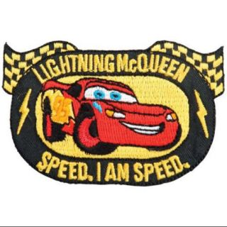 Disney Cars Iron On Appliques Lightning McQueen Emblem