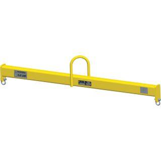 M&W Lift Beam — 4Ft.L, 500Lb. Capacity, Model# 11525  Forklift Lift Beams