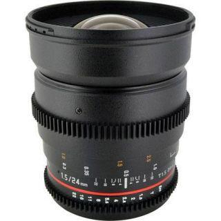 Rokinon 24mm T1.5 Cine Lens for Nikon F Mount CV24M N