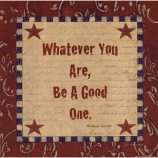 Whatever You Are Poster Print by Jo Moulton (8 x 8)