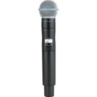 Shure ULXD2/B58 J50 Handheld Transmitter with Beta 58A Microphone ULXD2/B58= J50