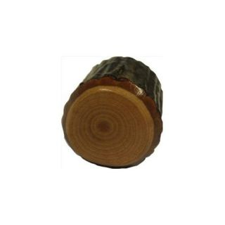 Buck Snort Lodge 359 Rustic Hickroy Cabinet Knob   Real Wood Hickory Wood