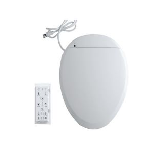 C3 201Elongated Bidet Toilet Seat with In Line Heater and Remote
