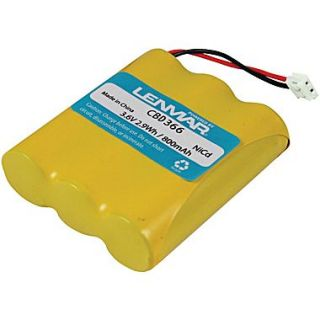 Lenmar CBD366 Ni MH 1200 mAh Replacement Battery For Cordless Phones
