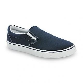 Roebuck & Co. Mens Belden Casual Slip On   Navy   Clothing, Shoes