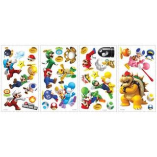 Roommate 673SCS Nintendo   Super Mario Peel and Stick Wall Decals