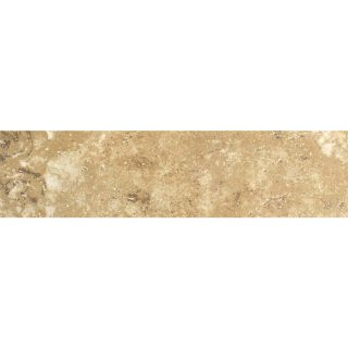 FLOORS 2000 Cometstone Cliff Tail Noce Porcelain Bullnose Tile (Common: 3 in x 13 in; Actual: 3 in x 13.11 in)